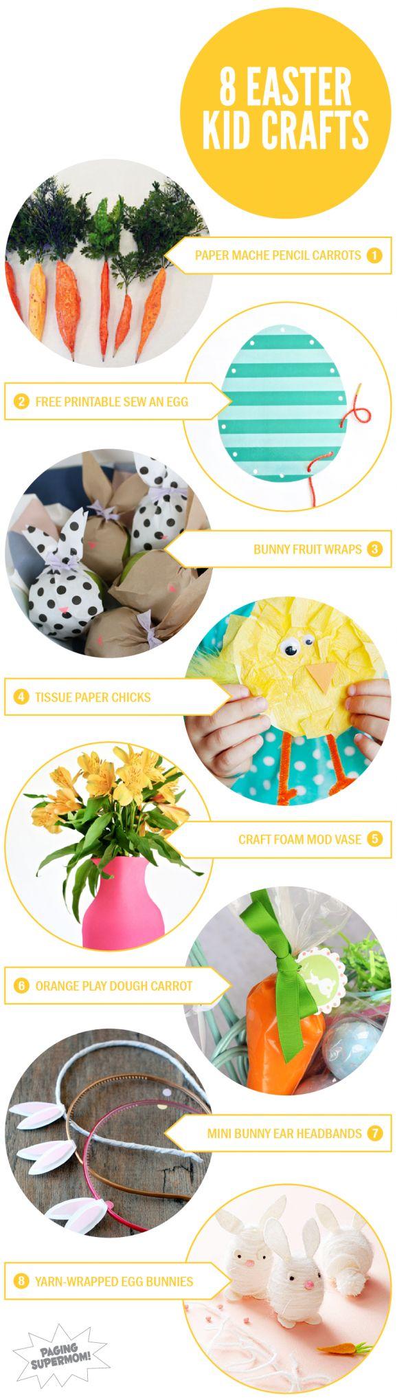 13 best easter images on pinterest easter ideas easter crafts 8 easter crafts for kids via pagingsupermom kidscrafts easter negle Choice Image