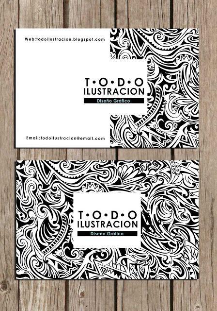 Como hacer una tarjeta de presentacion y plantilla