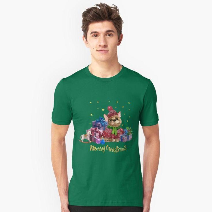 FRENCHIE CHRISTMAS CELEBRATION T-SHIRT