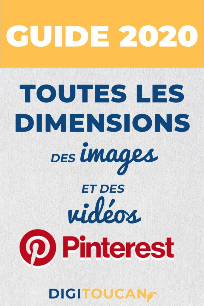 Guide Des Tailles Des Images Et Des Videos Sur Pinterest 2020 En 2020 Personnaliser Ses Photos Video Photo Profil