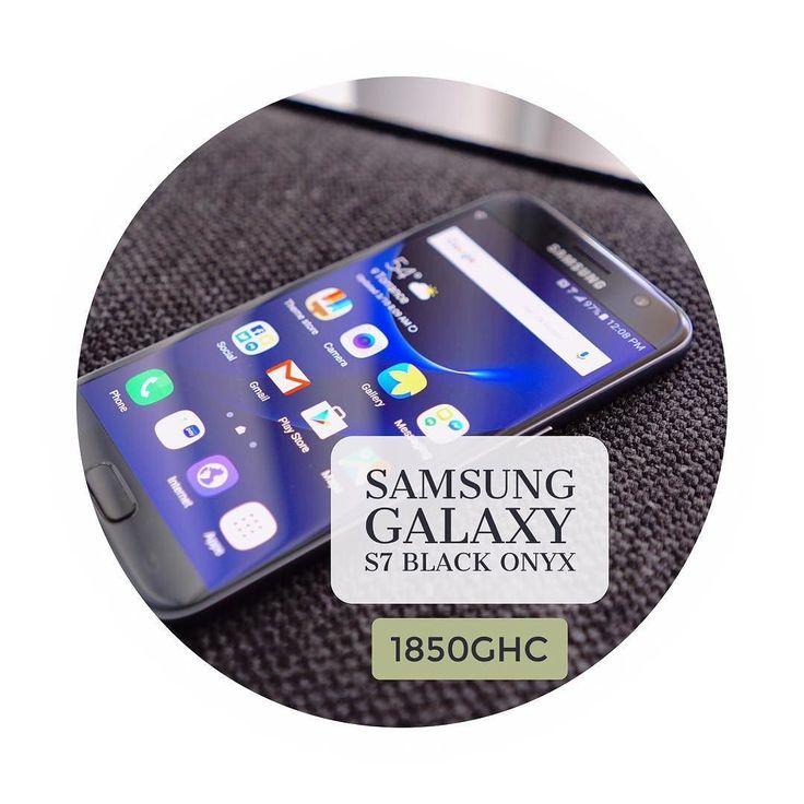 SAMSUNG GALAXY S7 BLACK ONYX COLOUR PRICE:1850GHC  CALL OR WHATSAPP THE DEVICE HUB GHANA ON 0263320887  WE DELIVER NATIONWIDE #Kumasi #Accra #Ho #Sunyani #CapeCoast #Takoradi #Tamale #koforidua #Wa #Bolgatanga #Tarkwa #GHANA #iphone7 #iphone7plus