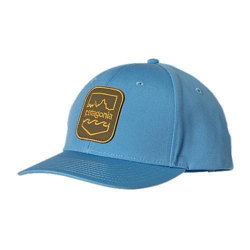 logo patch baseball cap - Blue Patagonia NTIGD
