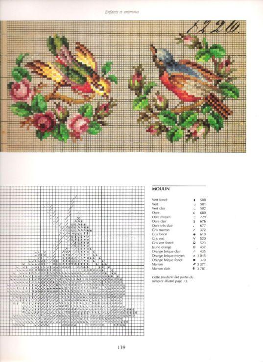 Красота природы - Схема вышивки крестом 98