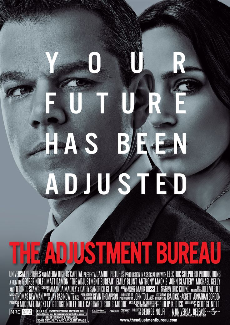 The Adjustment Bureau (2011) with Matt Damon and Emily Blunt