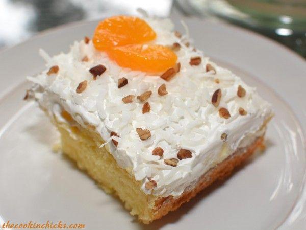 Hawaiian Dream Cake Makes a 9X13 Pan