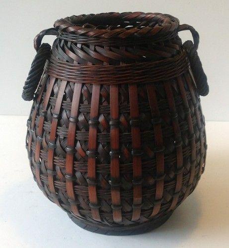 Superb Ideas For Ethnic Home Decor: Vintage Baskets, Basket Weaving And Flower Basket