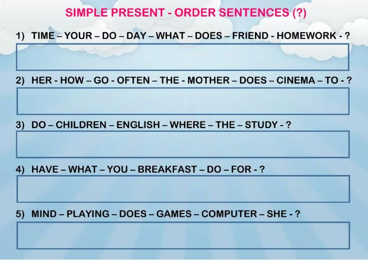 17 best Present Simple ESL interactive worksheets images by ...