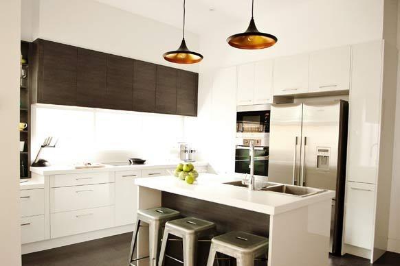 Dan and Dani's kitchen - the block 2012