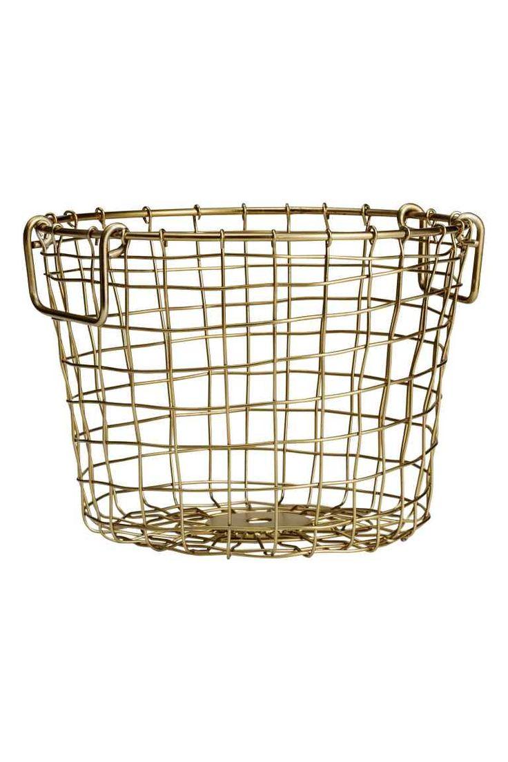 Petit panier en fil métallique   H&M