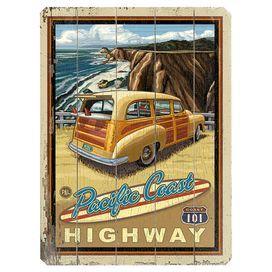 Pacific Coast Highway Wall Decor