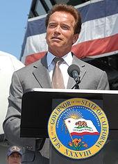Arnold Schwarzenegger, 38th Governor of California