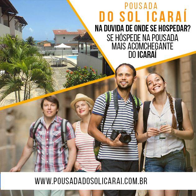 Para sua comodidade a Pousada Do Sol Icaraí dispõe de otimos quartos, situa-se a 100 metros da Praia de Icaraí e disponibiliza uma piscina exterior e acesso Wi-Fi gratuito nas áreas públicas. Os quartos climatizados têm um mini-bar. Acesse nosso site:http://www.pousadadosolicarai.com.br/reservas/ #pousada #dosol #icarai +55 (85) 3318-2006 | +55 (85) 98647-290