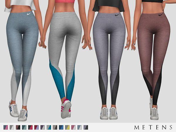 Vanya Leggings by Metens at TSR • Sims 4 Updates