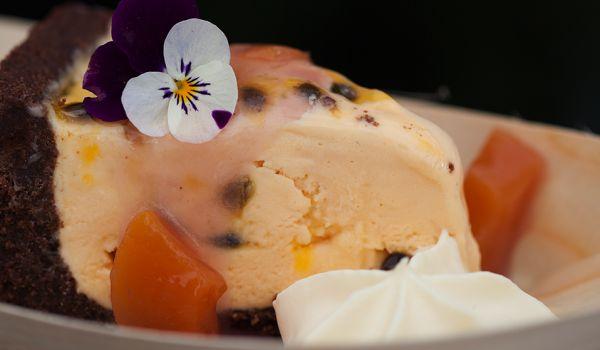 Kapiti Summer Nectarine Ice Cream Pie   Kapiti Collection