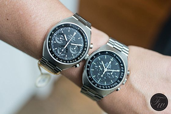 FRATELLO: Reviews and Compares the New and Vintage Omega Speedmaster Mark II