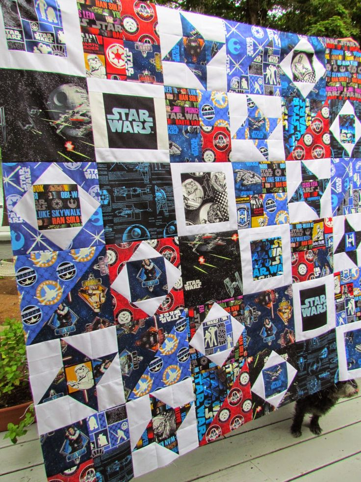 KayakQuilting: Another (and The Last) Star Wars Quilt