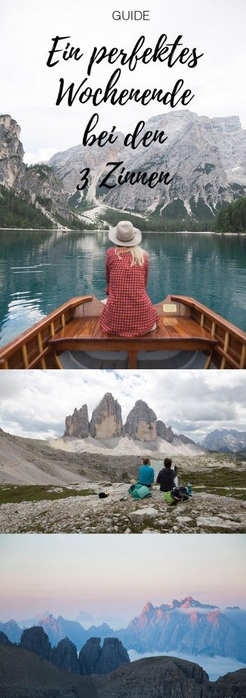 Im Südtirol, kurz nach der österreichisch-italienischen Grenze treffen in der Region der Drei ZinnenNord und Süd aufeinander. Schroffe Bergwelten, kristallklare Bergseen, alpiner Lifestyle und...
