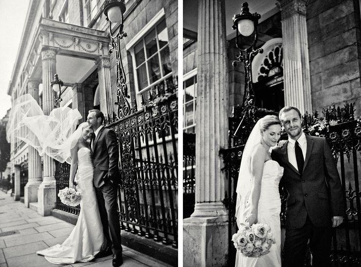 Chandos House, Marylebone Summer City Wedding