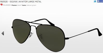 RAY BAN RB3025 AVIATOR FULL COLOR(アビエイター)
