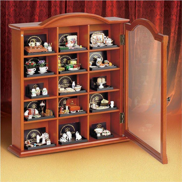 """Коллекционная витрина для серии """"Коллекция миниатюрных интерьеров"""" - Купить по цене 8990 руб. в интернет-магазине"""