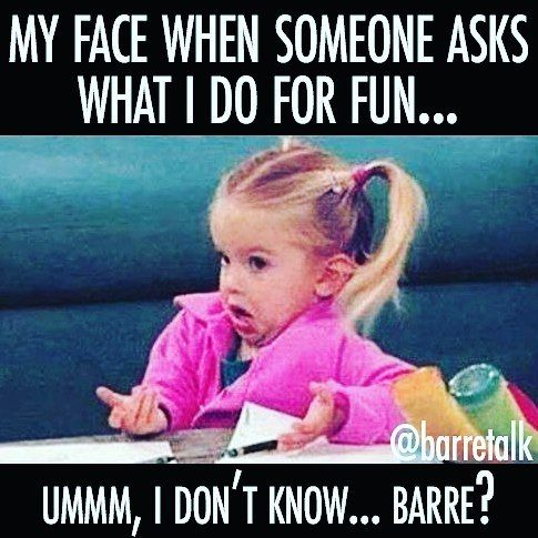 That moment when you realize.... Time away from kids is spent at your barre…