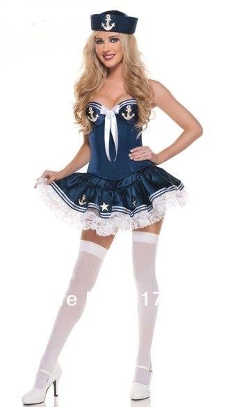 ml5336 novo mistério sexy fantasia de marinheiro fantasias de carnaval sexy fantasia de halloween