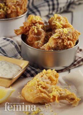 Sayap Ayam Lemon