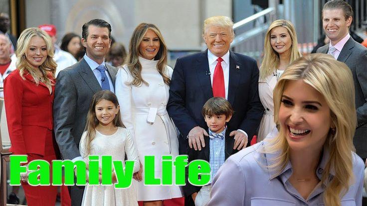 Donald Trump's Daughter : Ivanka Trump's Family 2017