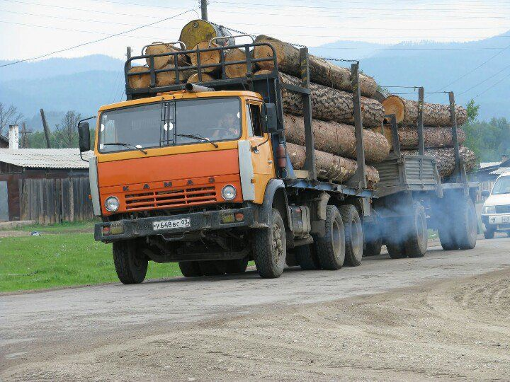 KAMAZ #truck #trucks #kamaz #log #FinalDestination