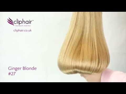 Ginger Blonde 27 A Warm Auburn Strawberry Blonde With A