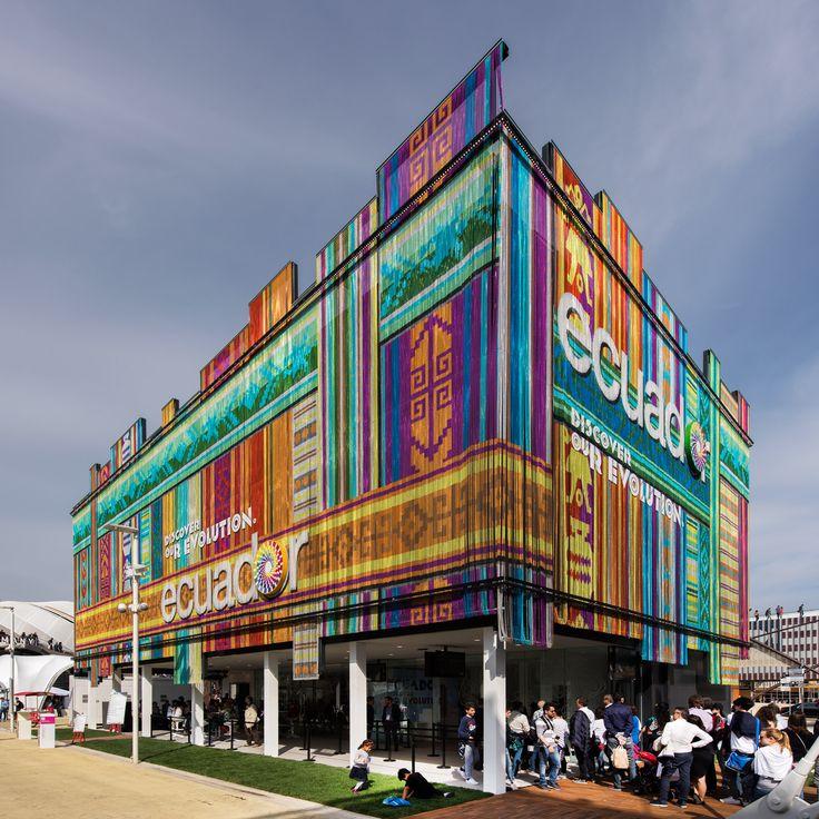 World Expo 2015 Milan, Pavilion Ecuador