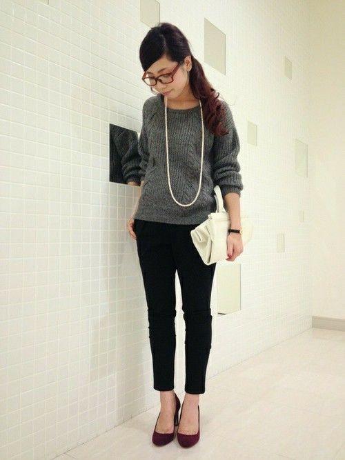 アーバンリサーチ アミュプラザ博多店|sachimiさんのニット・セーターを使ったコーディネート - ZOZOTOWN