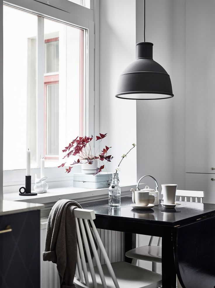 All white home with lots of character - via Coco Lapine Design