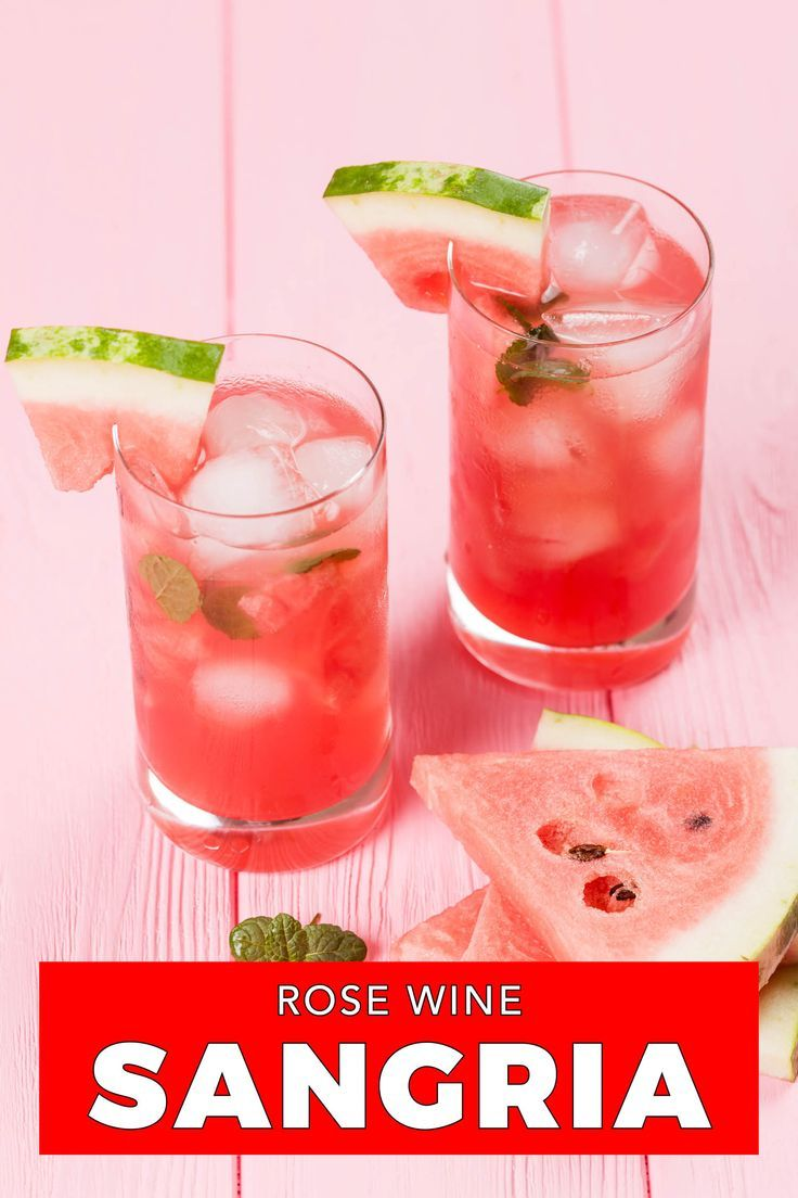Just Say No To Sickeningly Sweet Irish Pub Sangrias And Try Rose Sangria Instead In 2020 Delicious Drink Recipes Rose Sangria Global Recipes