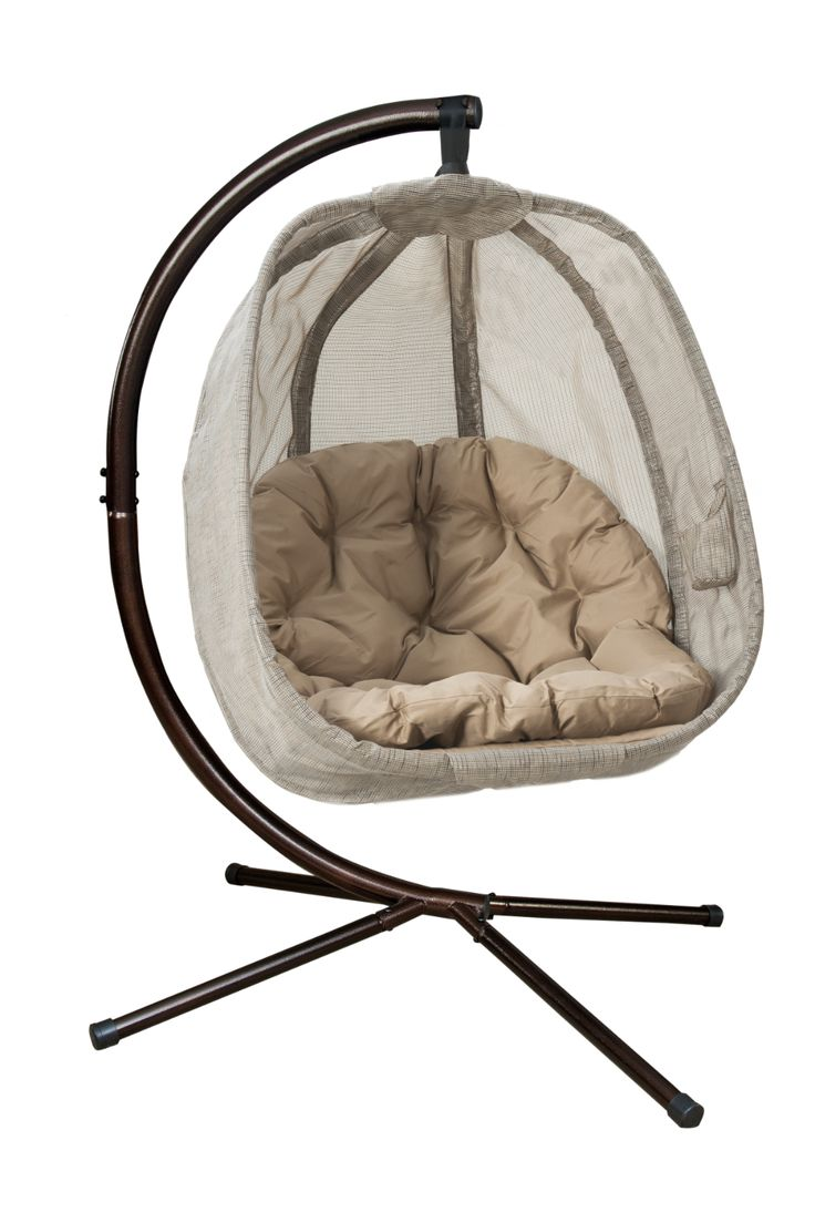 Flowerhouse hanging egg chair wstand