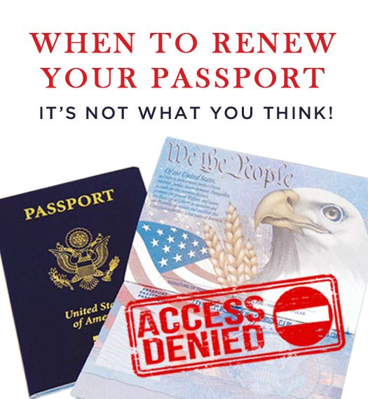 When To Renew Your Passport (It's Not What You Think!) - Luxury Travel, Unique Vacations | Brownell Travel