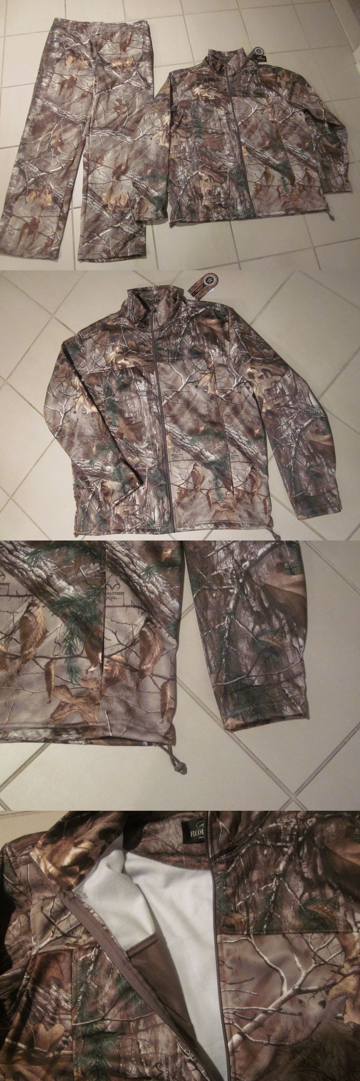 Jacket and Pant Sets 177872: Redhead Fleece Camouflage Realtree *Jacket And Pant* 2 Piece Outfit Nwt Xxl 2Xl -> BUY IT NOW ONLY: $70.99 on eBay!