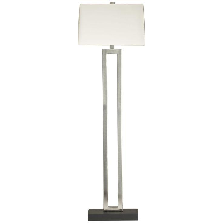 Duncan Antiqued Silver Floor Lamp in Floor Lamps   Crate and Barrel