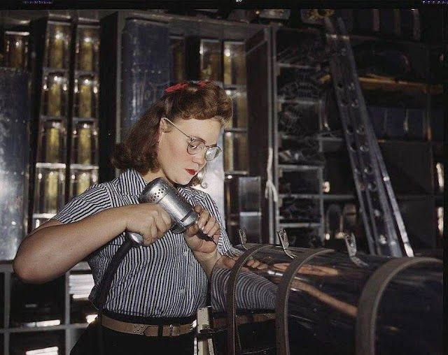 By the way...: Rosie the Riveter