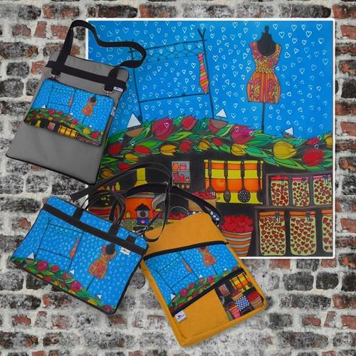 A manökenbaba és a nyakkendő szerelme képem ihlette táska