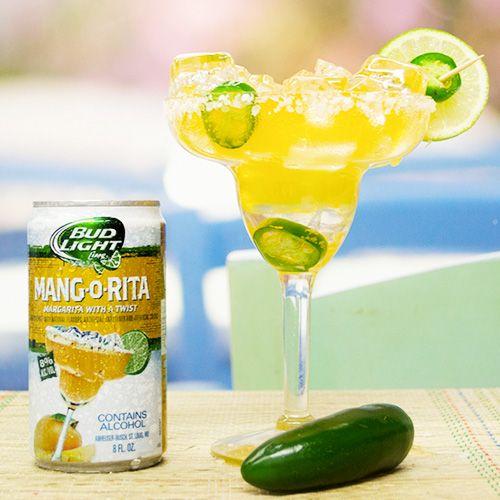 Jalapeño Mang-O-Rita Ingredients: 6 oz Mang-O-Rita .75 oz Fresh Lime Juice .75 oz Simple Syrup 1 Jalapeno [[MORE]] Garnish: Jalapeno Salt Rim  Glassware: Margarita Glass  Method: Muddle a few jalapeno slices in a shaker.  Add lime juice, simple syrup into a shaker with ice and shake vigorously.  Add Mang-O-Rita and strain (without reshaking) into glass. Garnish and serve.