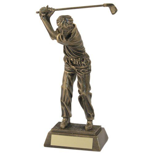 "From 9.47:6"" Golf Trophy Award With Free Engraving Up To 30 Letters Jr2-rf421a"