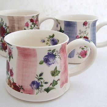 Beautiful mugs!  #teacup #cup #mug #haferl #tasse #tassen