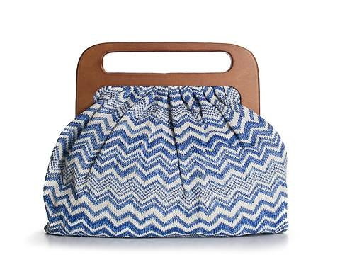 Urban Expressions Oversized Wood Handle Clutch Clutches Handbags - DSW