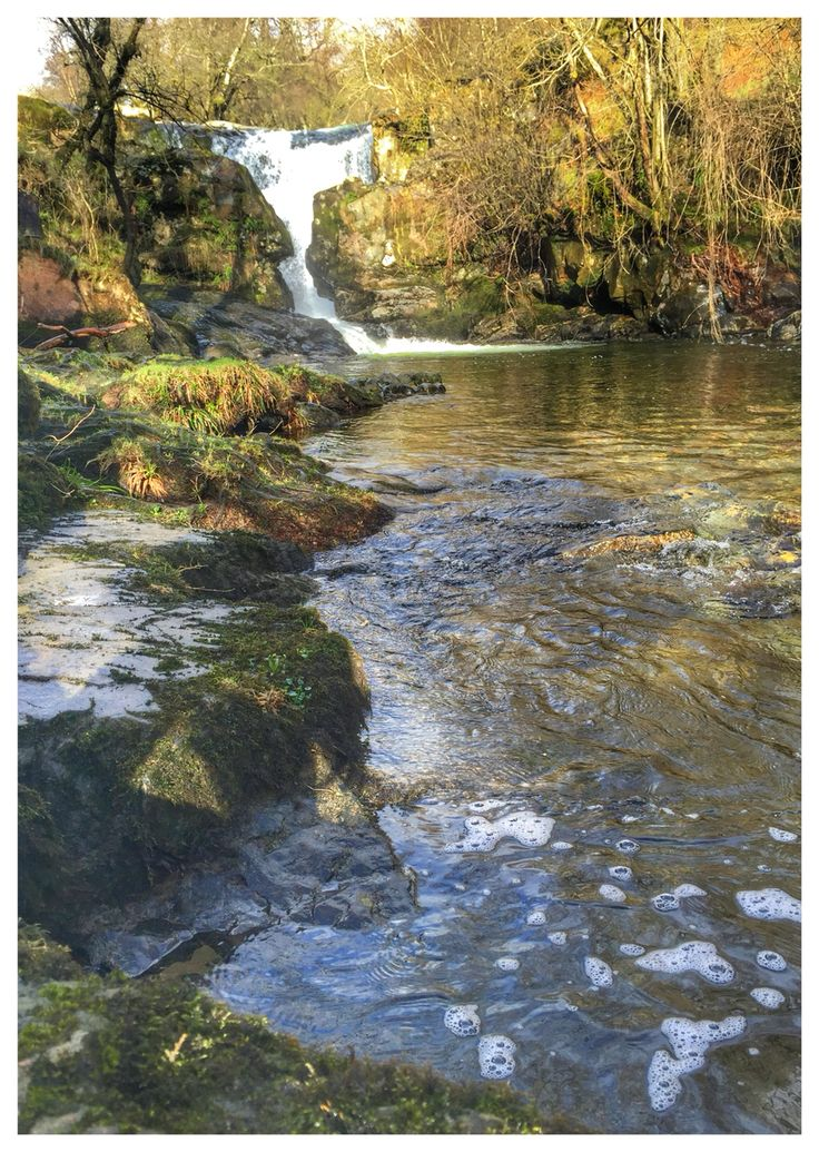 Waterfall, Penrith, Dockray. Lake District