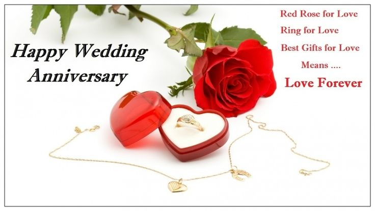 Wedding Anniversary Greetings Cards