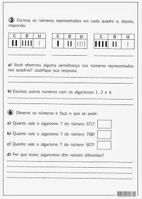 SOS PROFESSOR-ATIVIDADES: Valor absoluto e Valor relativo