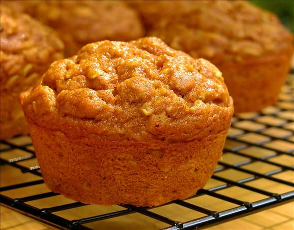 Low Fat Oatmeal Pumpkin Spice Muffins. a friend replaces the oatmeal with quinoa and says it's great.  you can freeze extra.