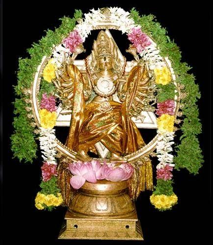 Sri Chakrathalwar Temple ���்ரீ ���ுயம்பு ���க்கரத்தாழ்வார்