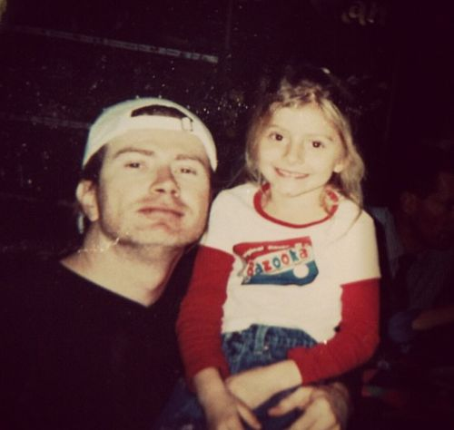 Justis and Electra Mustaine | Dave Mustaine and Electra.